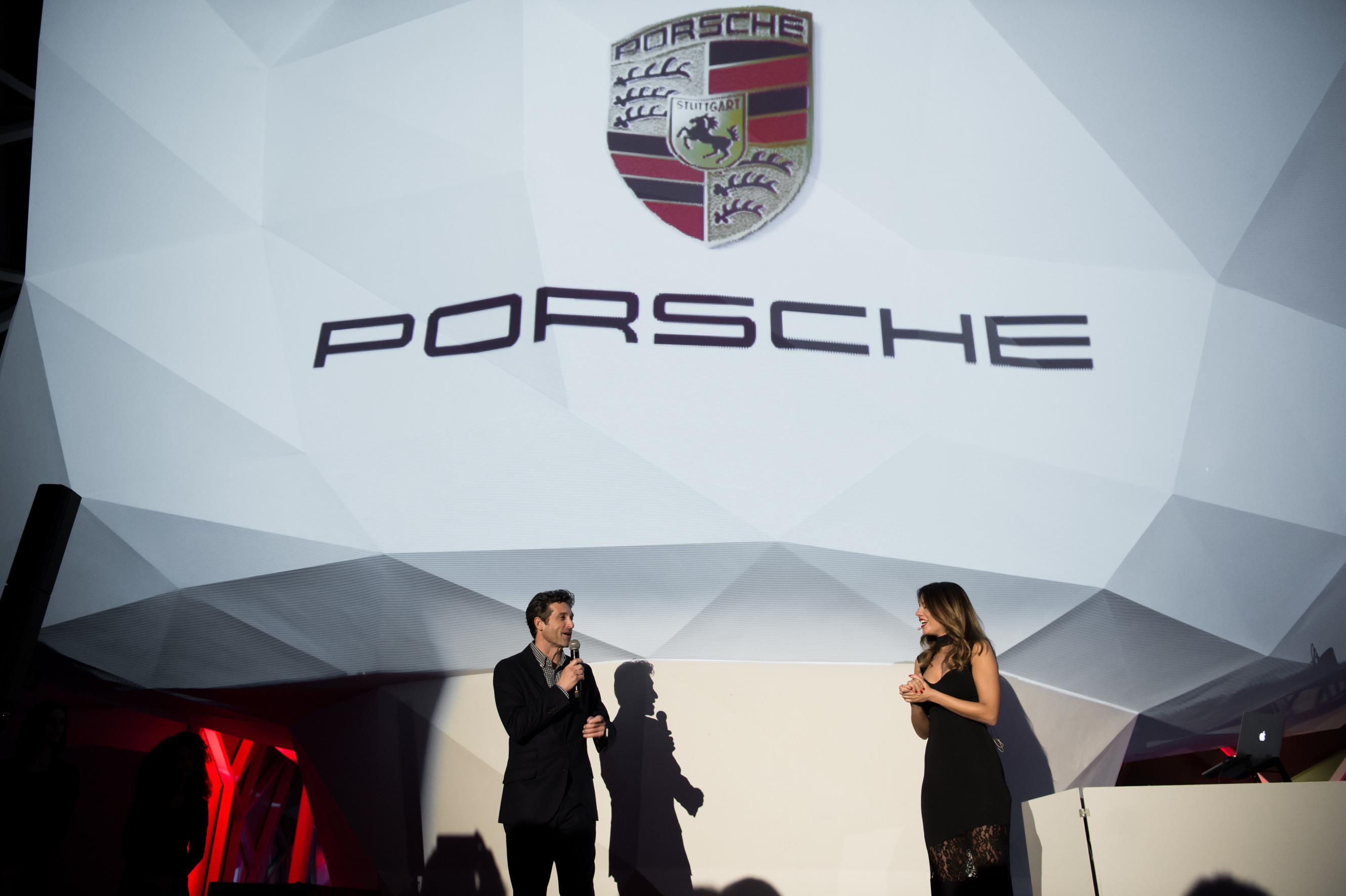 Porsche Patrick Dempsey