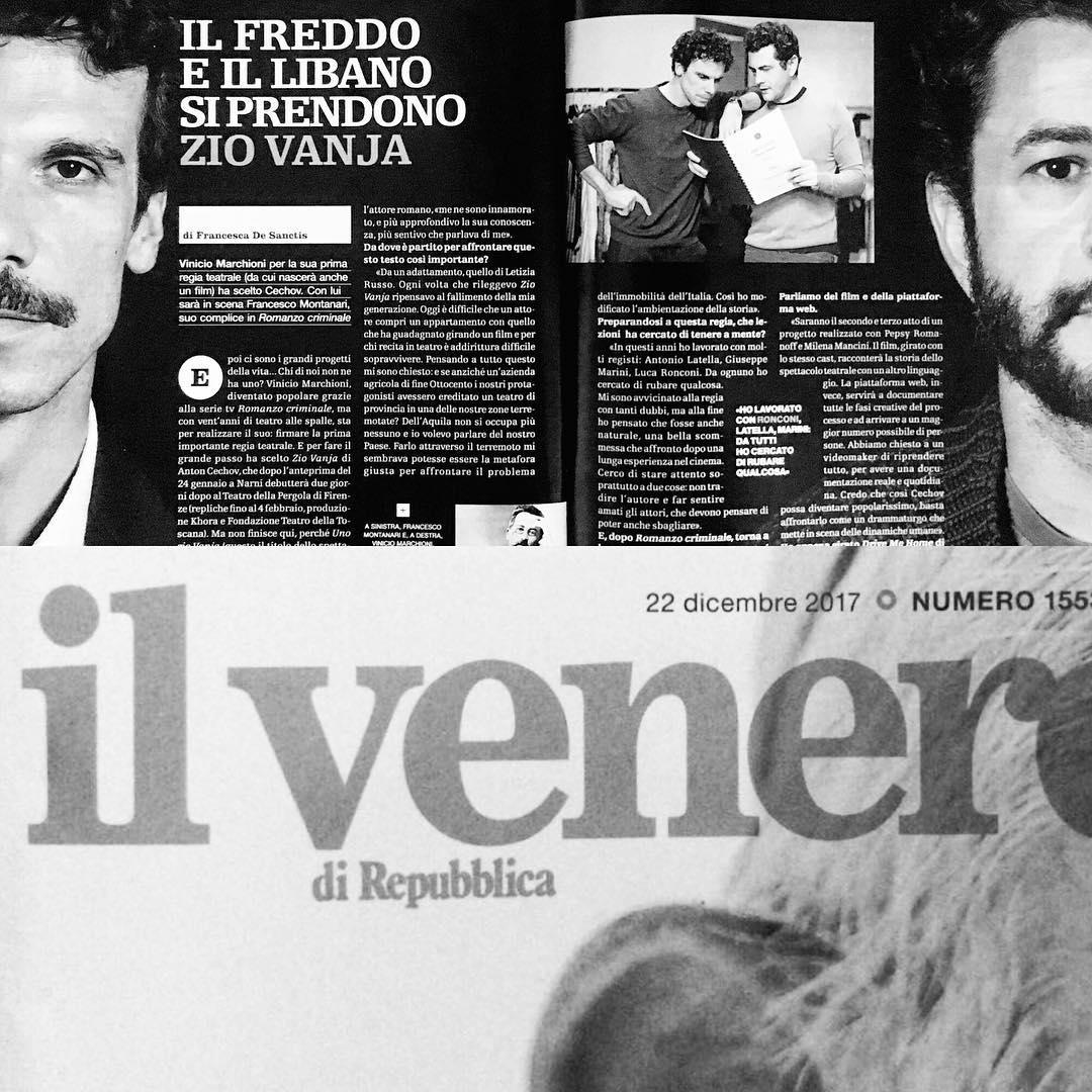 Francesco Montanari e Vinicio Marchioni
